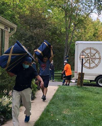 We're a local Rockville moving company you can count on. Treasure Moving Company.