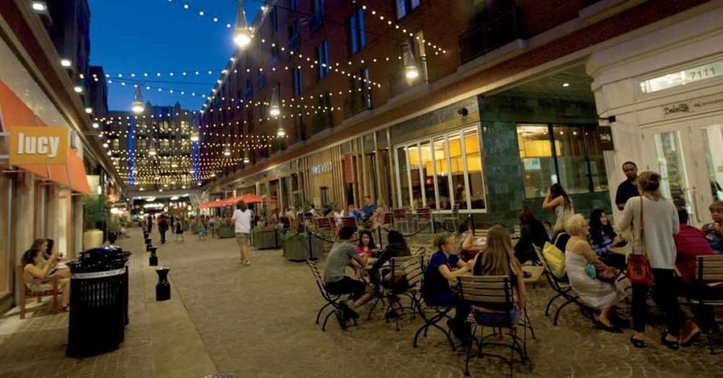 Rockville has many great bars and restaurants to choose from.