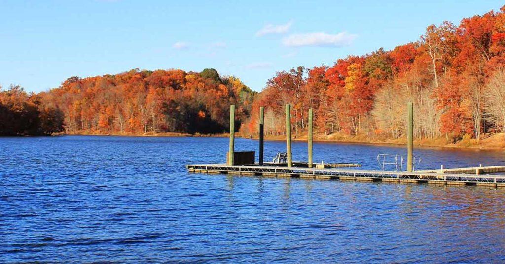 Lake Needwood in Rockville Maryland