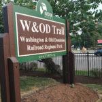 W&OD Trailhead