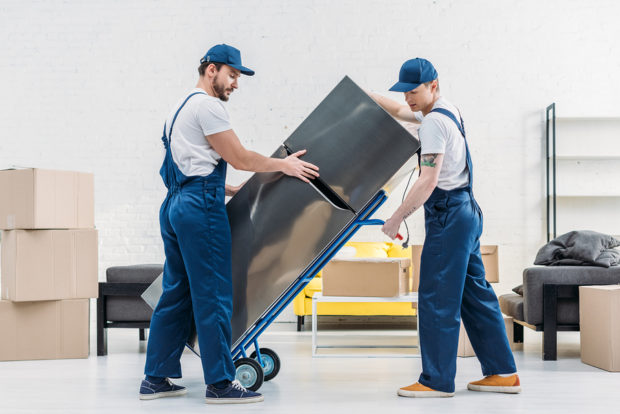 Can Movers Move Appliances?